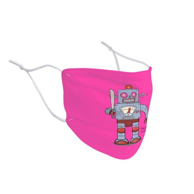 Affirmative. Machette Bot. Accessories Face Mask by brandongarrison's Artist Shop