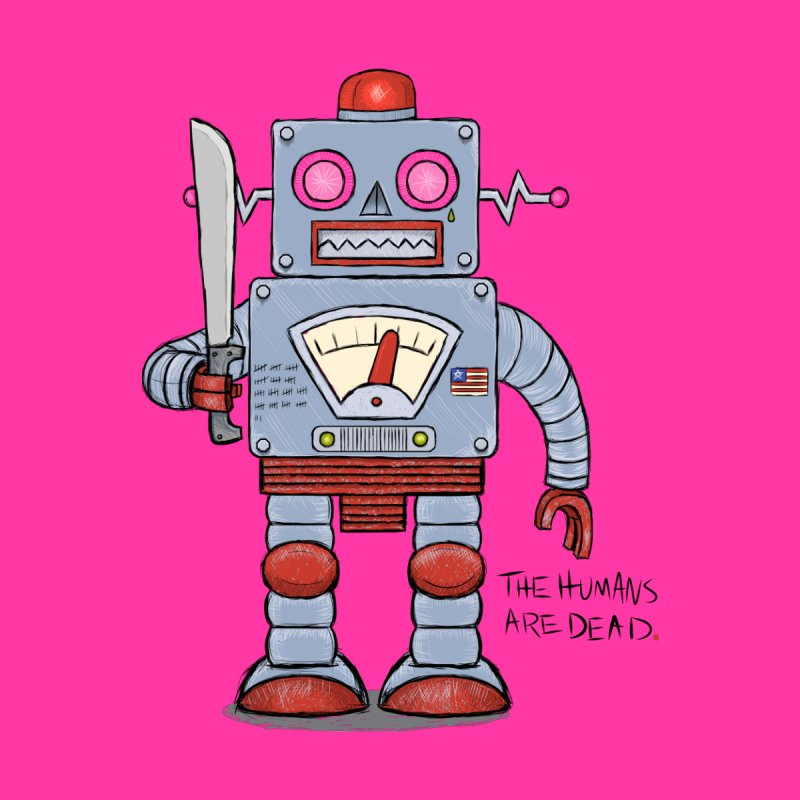 Affirmative. Machette Bot. by brandongarrison's Artist Shop