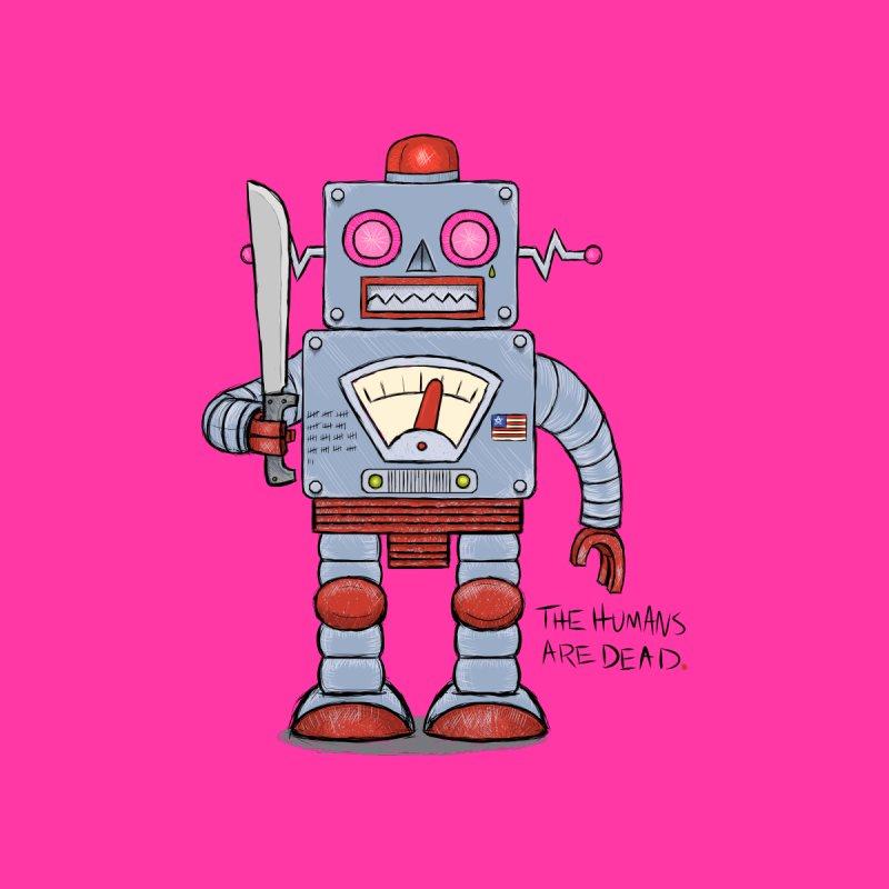 Affirmative. Machette Bot. Men's V-Neck by brandongarrison's Artist Shop