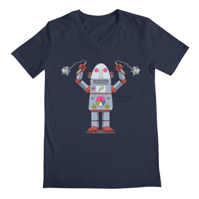 Affirmative. Mace Bot. Men's V-Neck by brandongarrison's Artist Shop