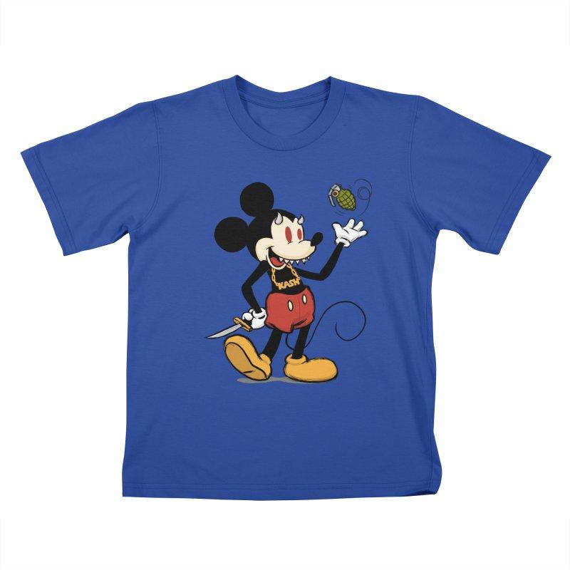Rodent Kids T-Shirt by brandongarrison's Artist Shop