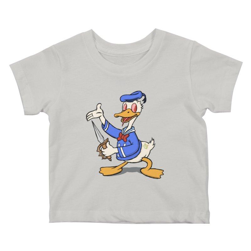 D*CK Kids Baby T-Shirt by brandongarrison's Artist Shop