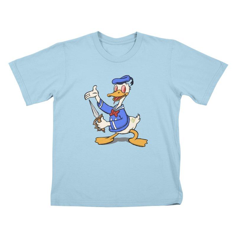 D*CK Kids T-Shirt by brandongarrison's Artist Shop