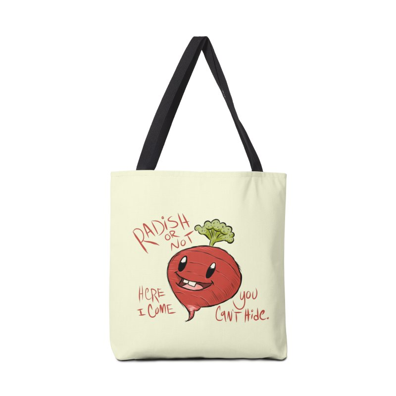 Radish or Not Accessories Bag by brandongarrison's Artist Shop