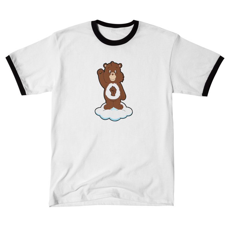 Show You Care Bear - Chocolate Men's T-Shirt by brandongarrison's Artist Shop