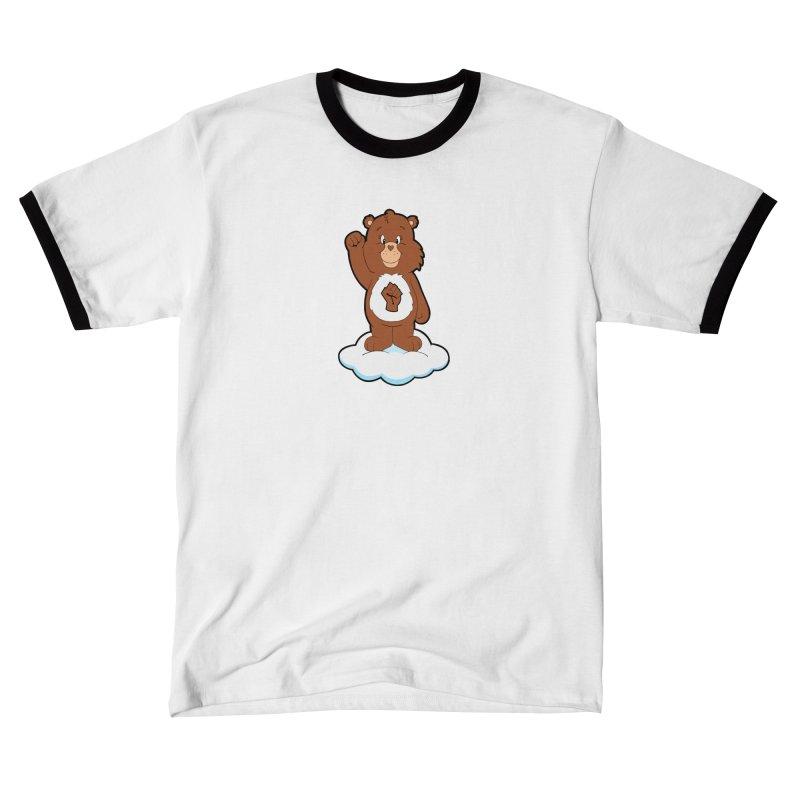 Show You Care Bear - Mocha Men's T-Shirt by brandongarrison's Artist Shop