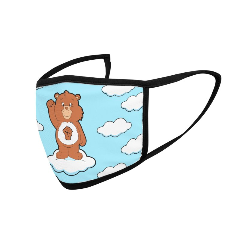 Show You Care Bear - Cinnamon Accessories Face Mask by brandongarrison's Artist Shop