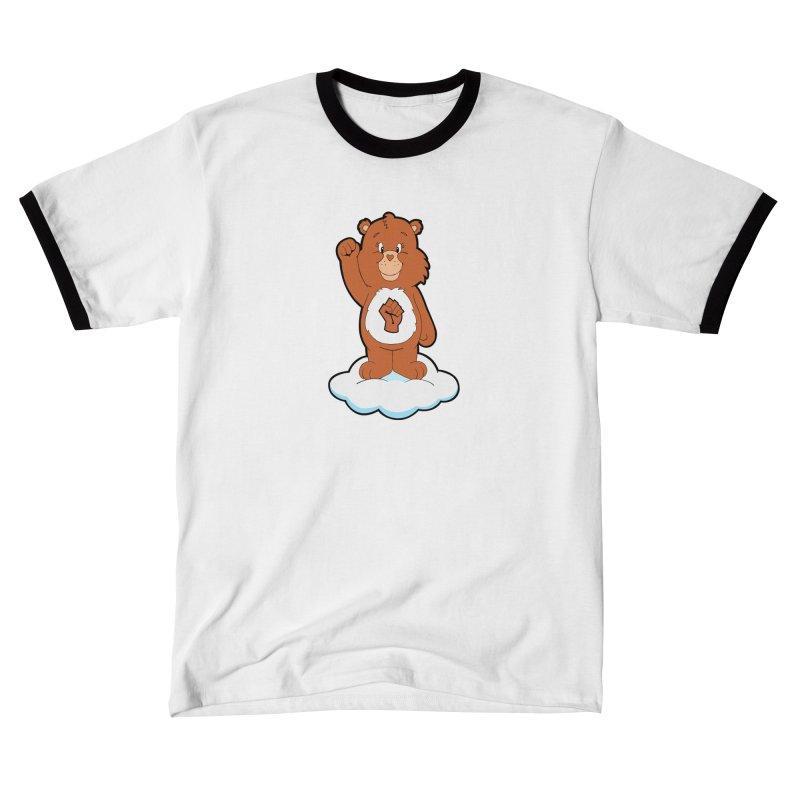 Show You Care Bear - Cinnamon Men's T-Shirt by brandongarrison's Artist Shop