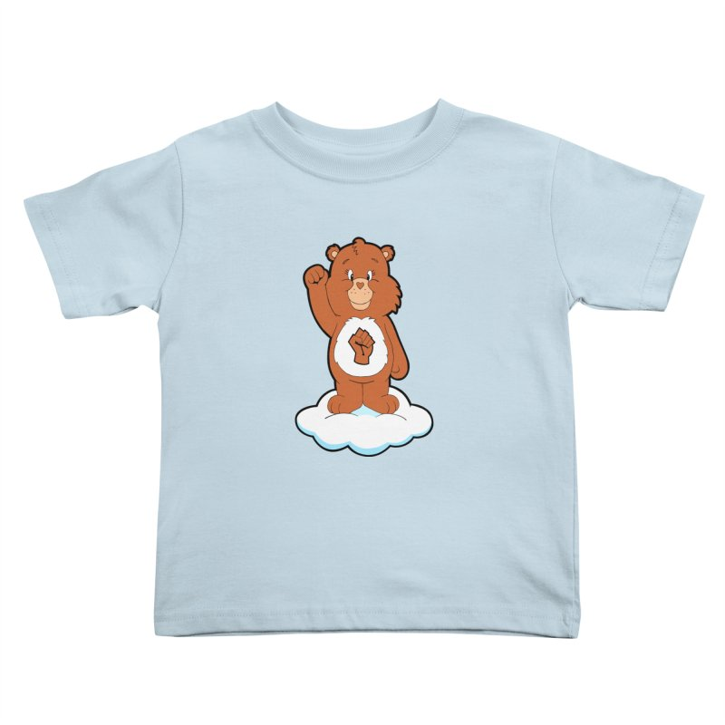 Show You Care Bear - Cinnamon Kids Toddler T-Shirt by brandongarrison's Artist Shop