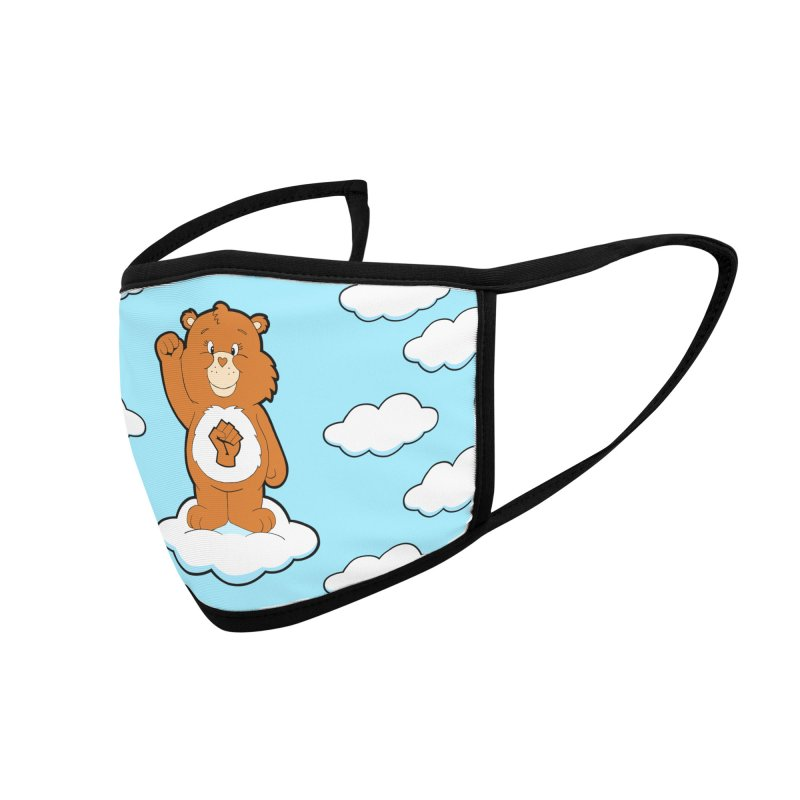 Show You Care Bear - Carmel Accessories Face Mask by brandongarrison's Artist Shop