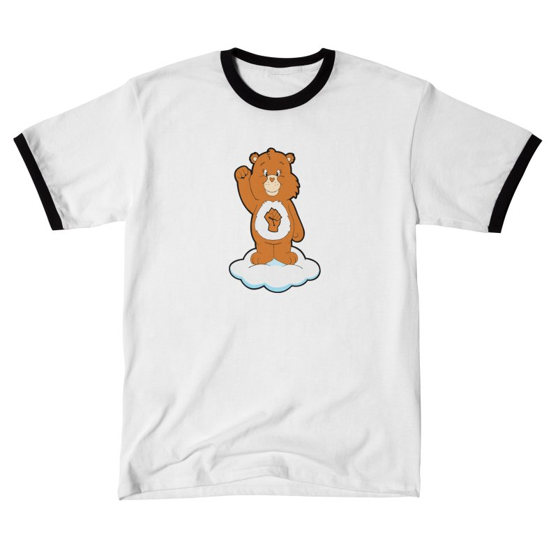 Show You Care Bear - Carmel Men's T-Shirt by brandongarrison's Artist Shop