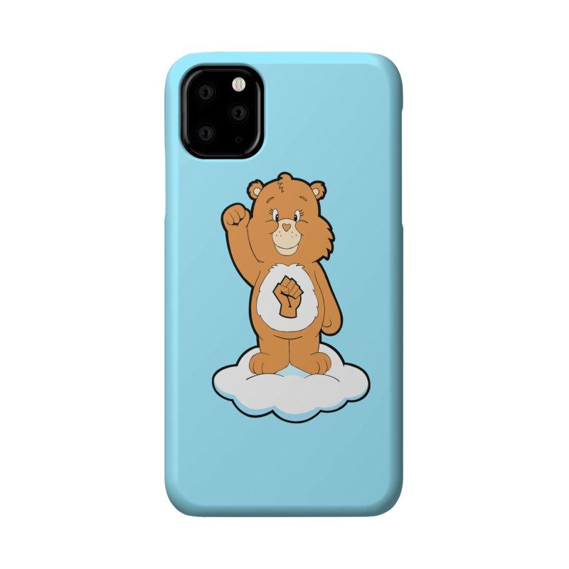 Show You Care Bear - Latte Accessories Phone Case by brandongarrison's Artist Shop