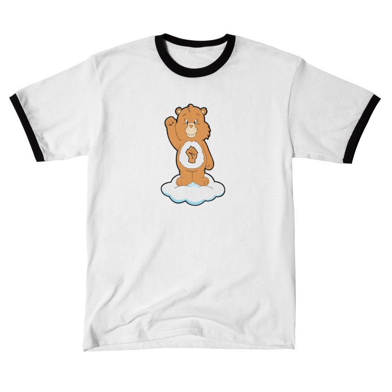 Show You Care Bear - Latte Men's T-Shirt by brandongarrison's Artist Shop
