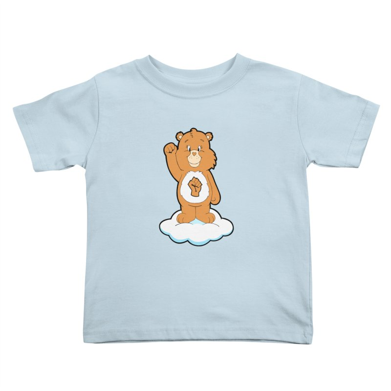 Show You Care Bear - Latte Kids Toddler T-Shirt by brandongarrison's Artist Shop