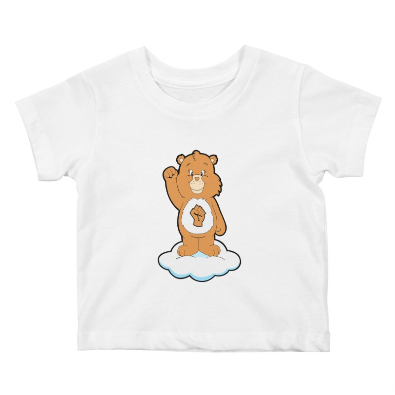 Show You Care Bear - Latte Kids Baby T-Shirt by brandongarrison's Artist Shop