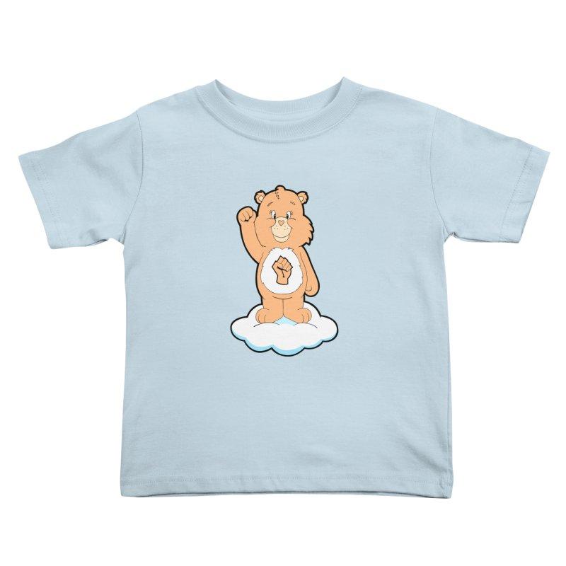 Show You Care Bear - Cream Kids Toddler T-Shirt by brandongarrison's Artist Shop