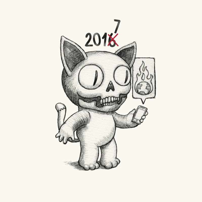 Crappy News Year! by brandongarrison's Artist Shop