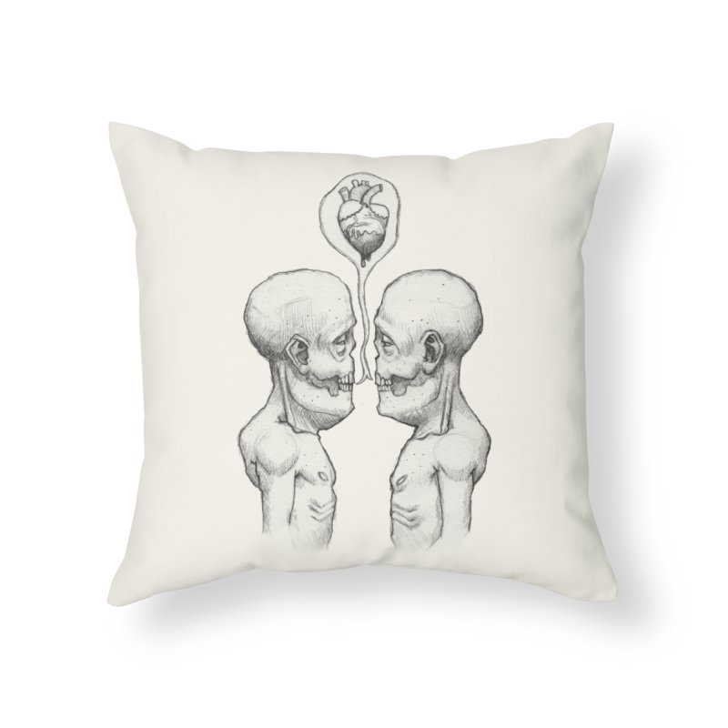 Sharing Home Throw Pillow by brandongarrison's Artist Shop