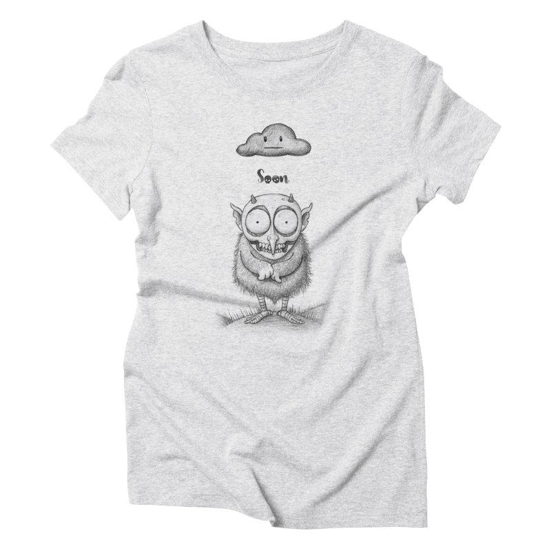 Soon Women's Triblend T-shirt by brandongarrison's Artist Shop