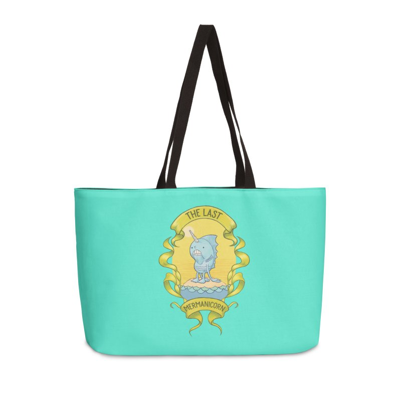 The Last Mermanicorn Accessories Bag by brandongarrison's Artist Shop