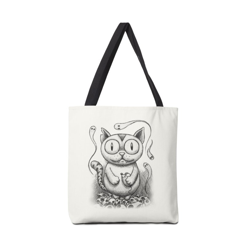 Cat-Snack Souls Accessories Bag by brandongarrison's Artist Shop
