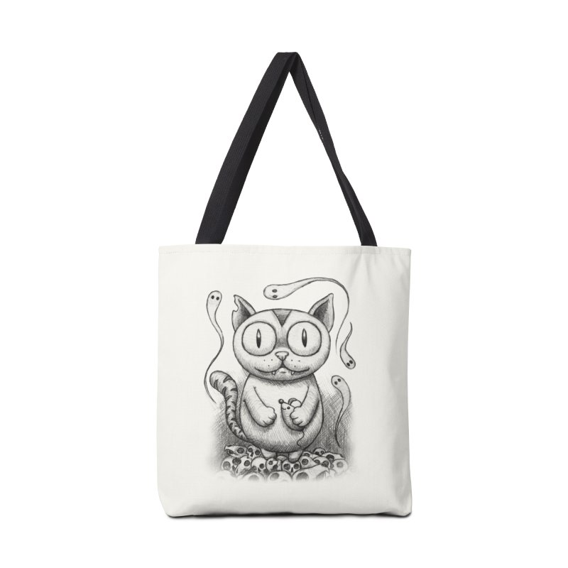Cat-Snack Souls Accessories Bag by brandongarrison's Artist Shop