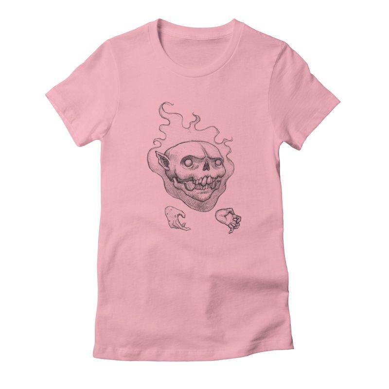 Thursday Women's Fitted T-Shirt by brandongarrison's Artist Shop