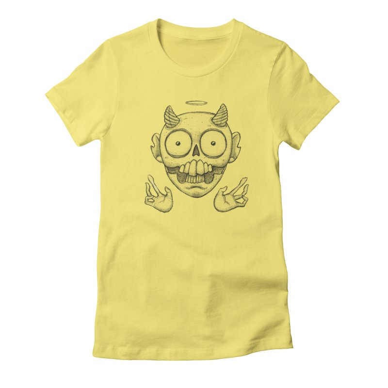Wednesday Women's Fitted T-Shirt by brandongarrison's Artist Shop