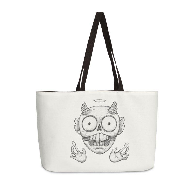 Wednesday Accessories Weekender Bag Bag by brandongarrison's Artist Shop
