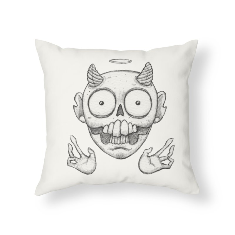 Wednesday Home Throw Pillow by brandongarrison's Artist Shop