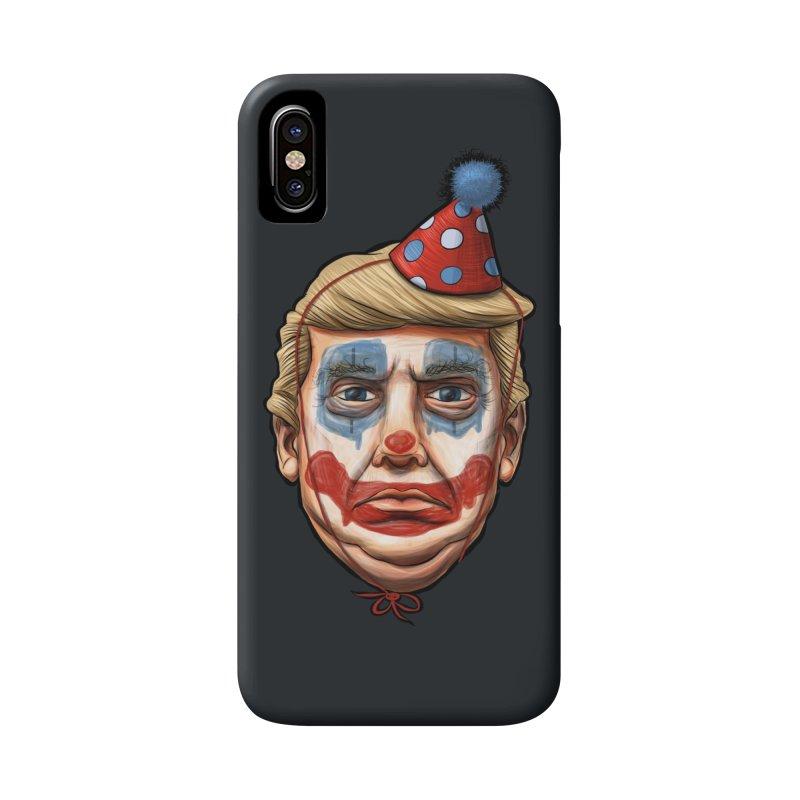 King Clown Trump Accessories Phone Case by brandongarrison's Artist Shop