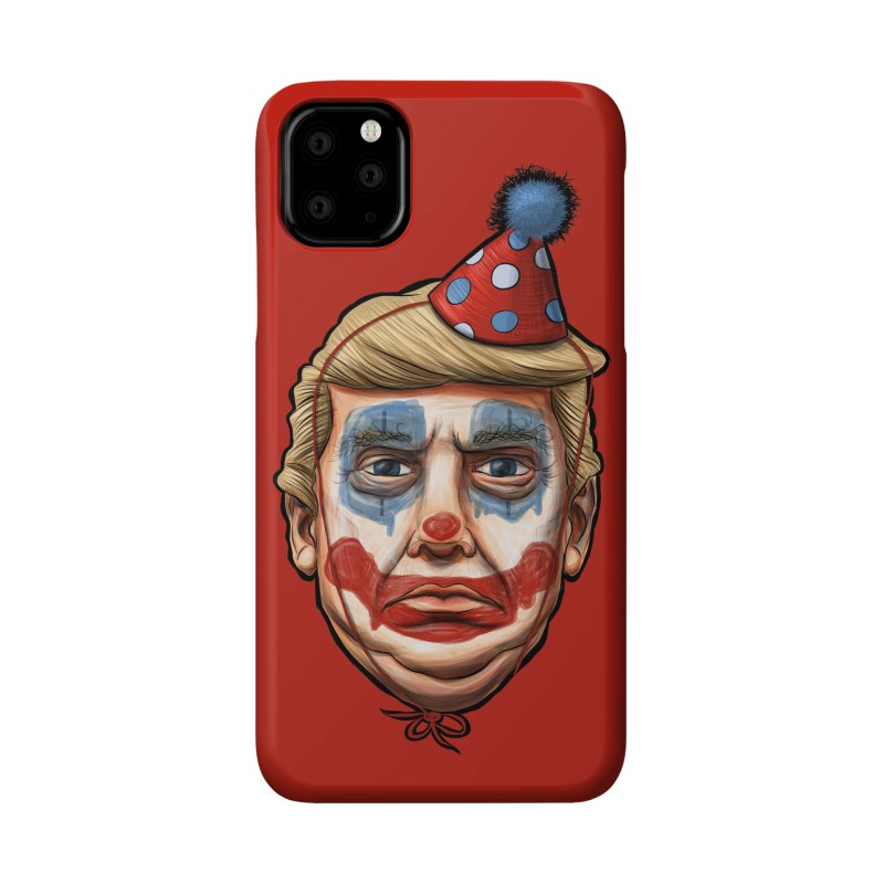 King Clown Trump Accessories Phone Case by brandongarrison's Artist Shop