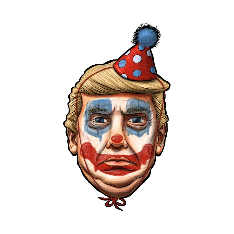 King Clown Trump   by brandongarrison's Artist Shop