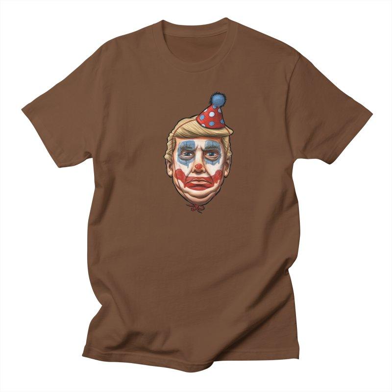 King Clown Trump Men's T-Shirt by brandongarrison's Artist Shop