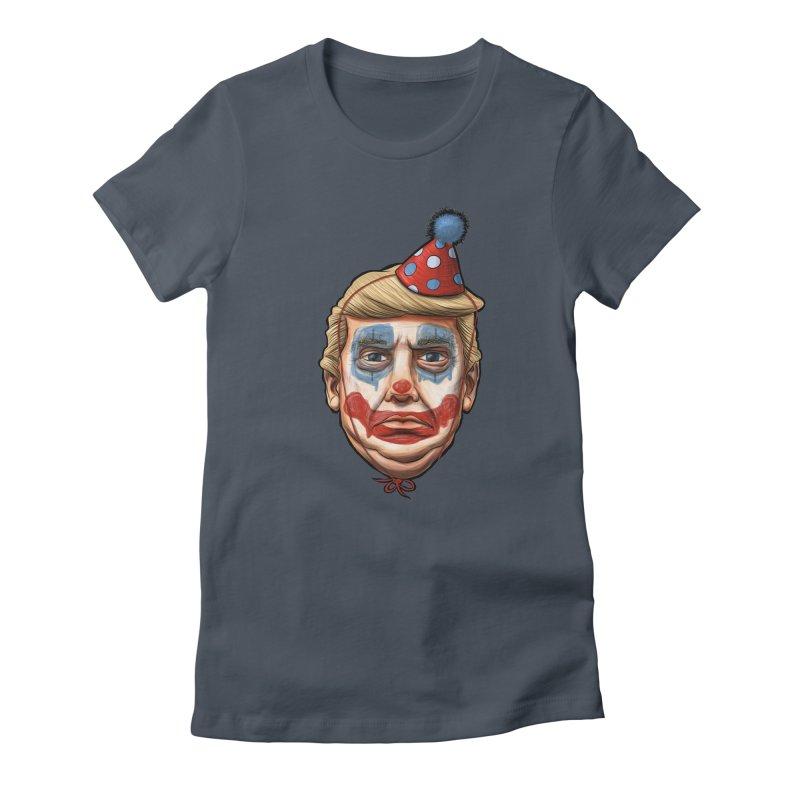 King Clown Trump Women's T-Shirt by brandongarrison's Artist Shop
