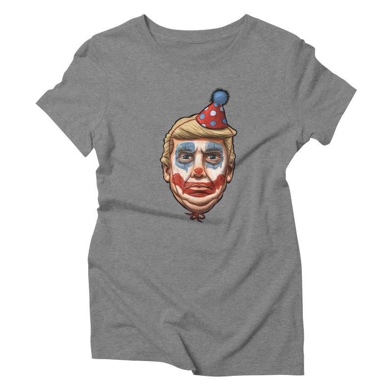 King Clown Trump Women's  by brandongarrison's Artist Shop