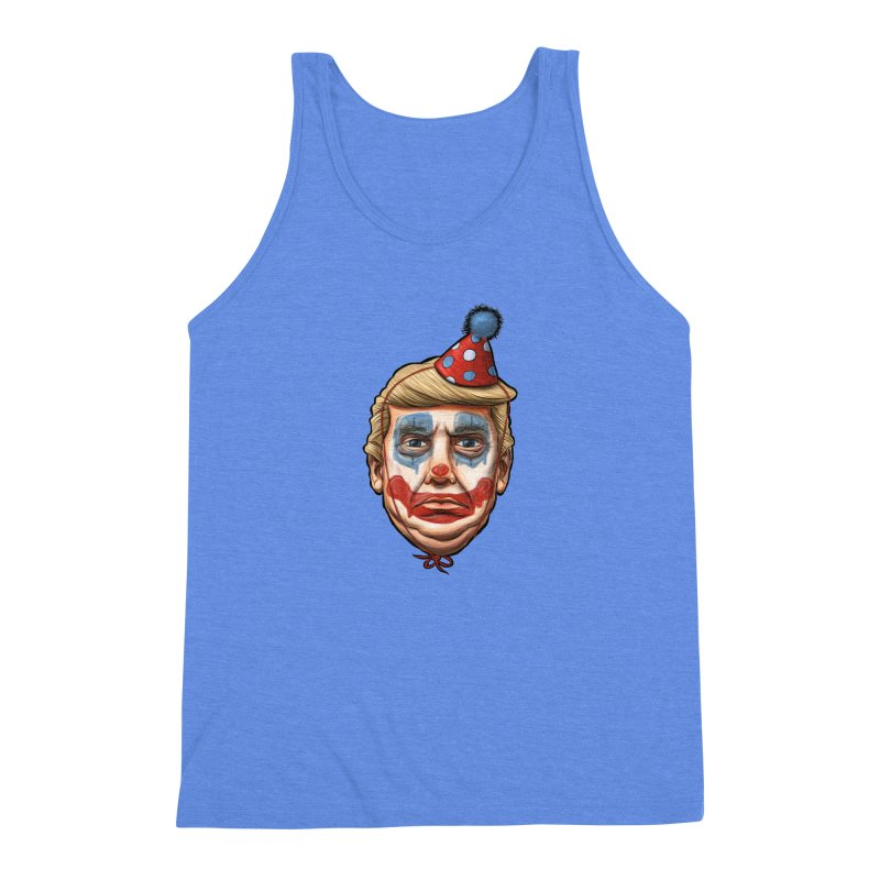 King Clown Trump Men's Triblend Tank by brandongarrison's Artist Shop