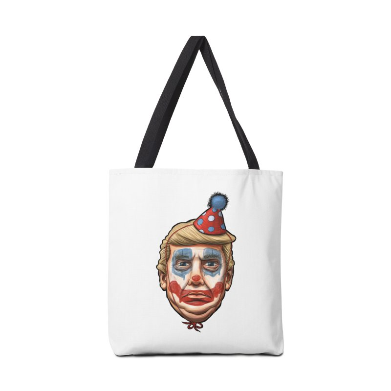 King Clown Trump Accessories Tote Bag Bag by brandongarrison's Artist Shop