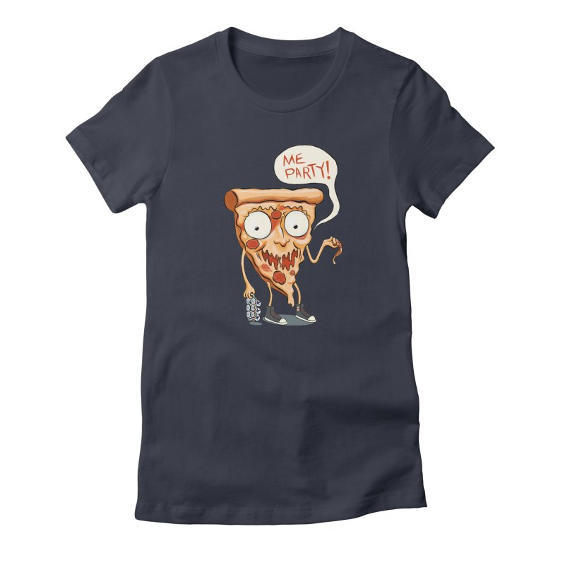 Me Party Women's Fitted T-Shirt by brandongarrison's Artist Shop