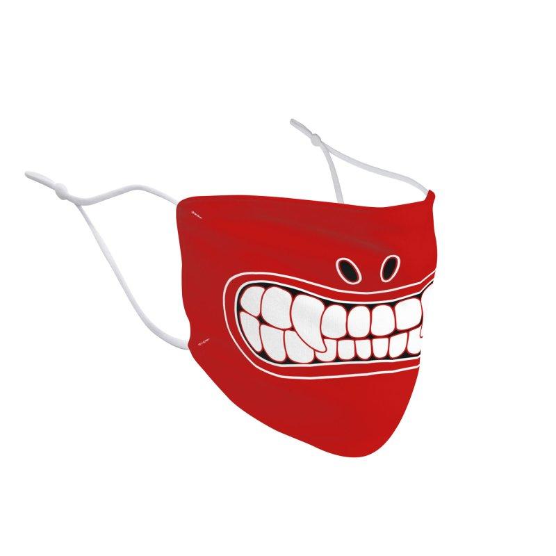 Crimson Grillz: TIKI Accessories Face Mask by brandongarrison's Artist Shop
