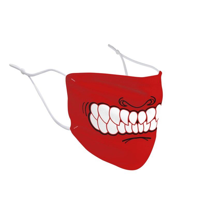 Crimson GrillZ: PIRANHA Accessories Face Mask by brandongarrison's Artist Shop