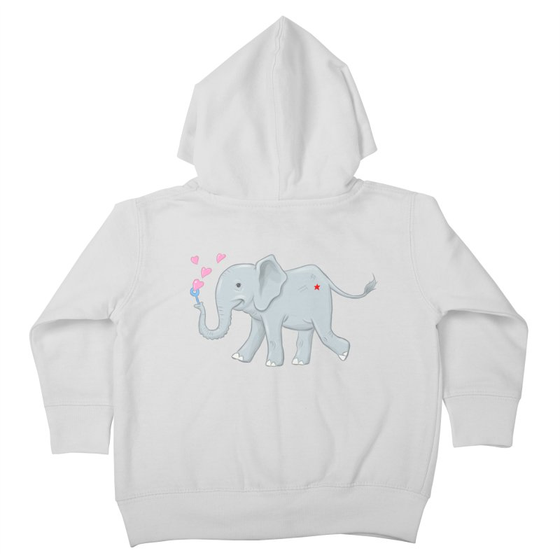 Elephant Bubbles Kids Toddler Zip-Up Hoody by brandongarrison's Artist Shop