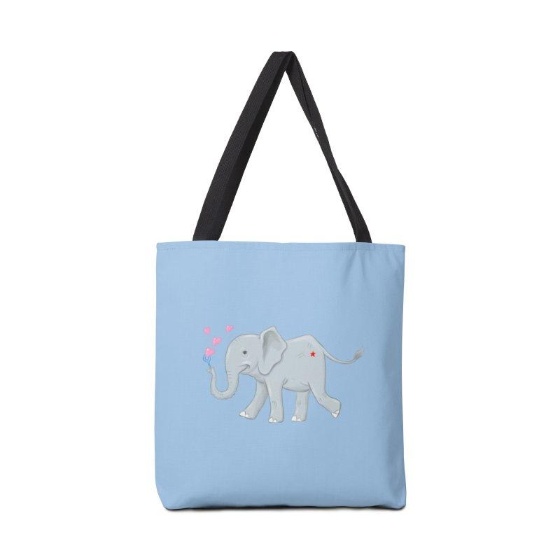 Elephant Bubbles Accessories Bag by brandongarrison's Artist Shop