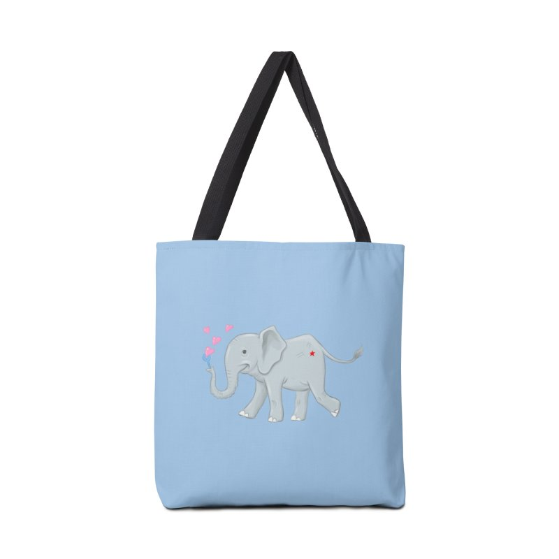Elephant Bubbles Accessories Tote Bag Bag by brandongarrison's Artist Shop