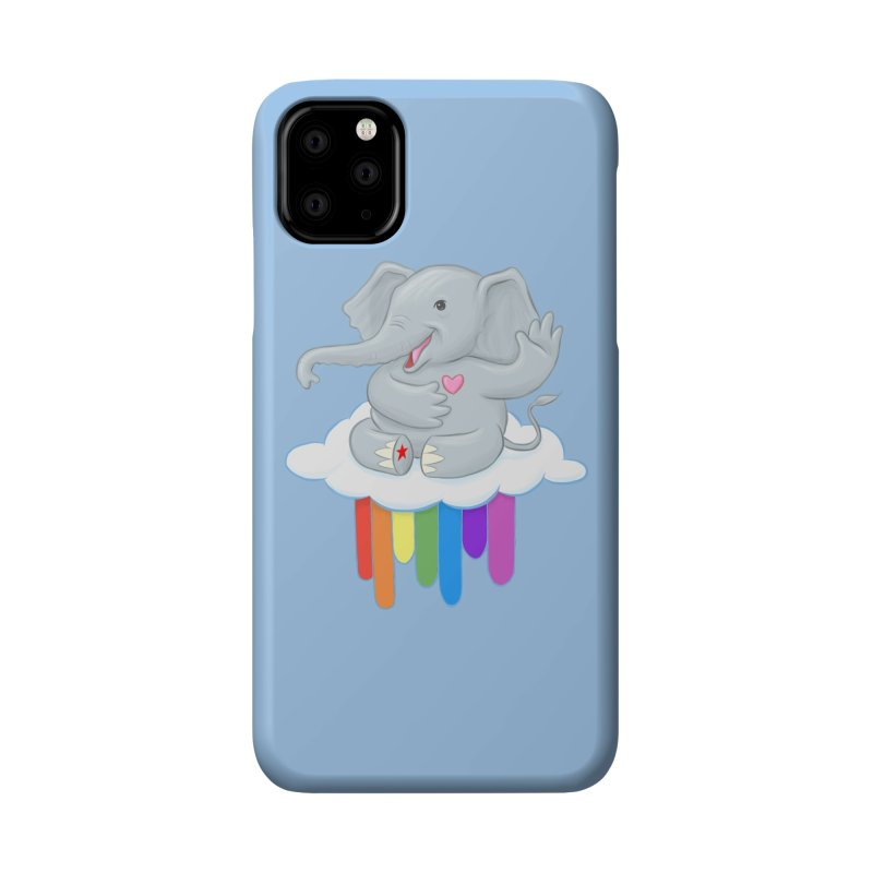 Rainbow Elephant Accessories Phone Case by brandongarrison's Artist Shop
