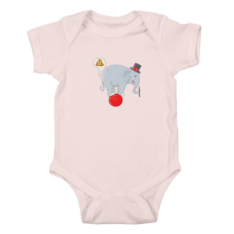 Backdoor Magic Kids Baby Bodysuit by brandongarrison's Artist Shop