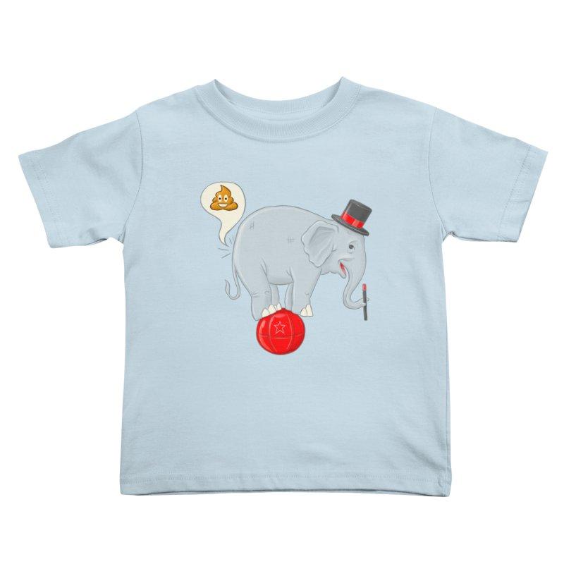 Backdoor Magic Kids Toddler T-Shirt by brandongarrison's Artist Shop