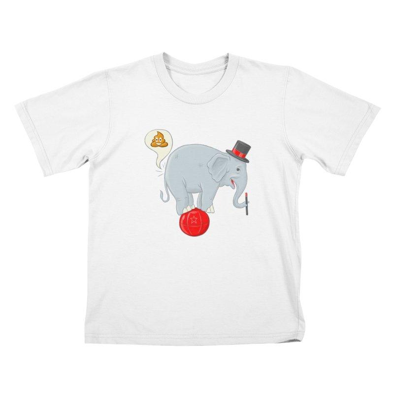 Backdoor Magic Kids T-Shirt by brandongarrison's Artist Shop