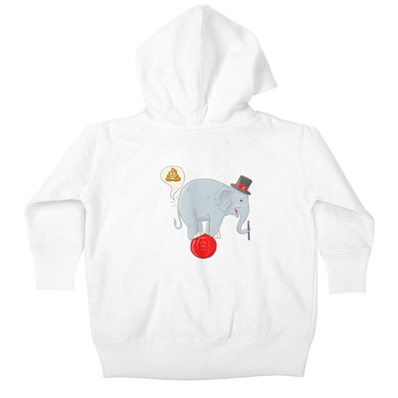 Backdoor Magic Kids Baby Zip-Up Hoody by brandongarrison's Artist Shop