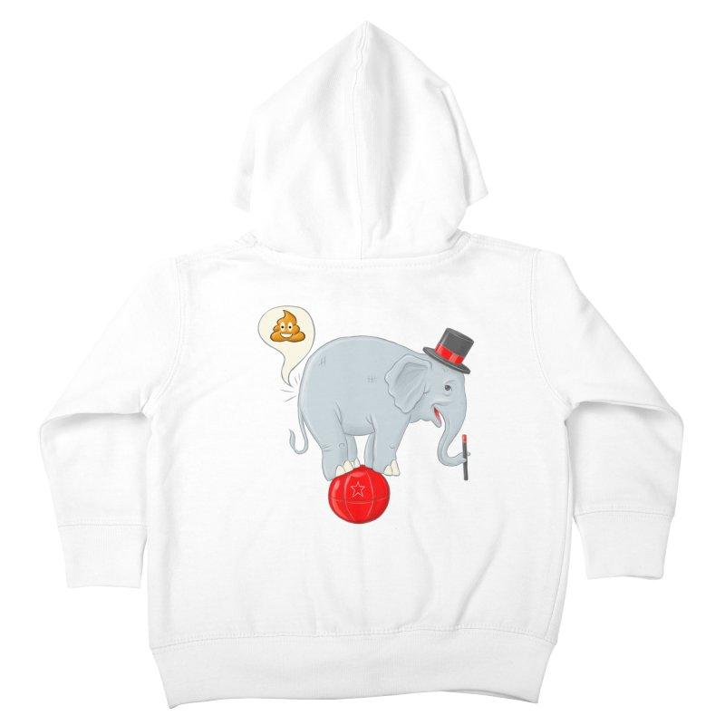 Backdoor Magic Kids Toddler Zip-Up Hoody by brandongarrison's Artist Shop